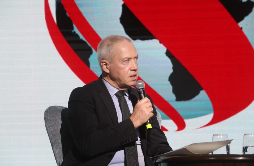 Minister of Construction and Housing Yoav Gallant (photo credit: SIVAN FARAG)