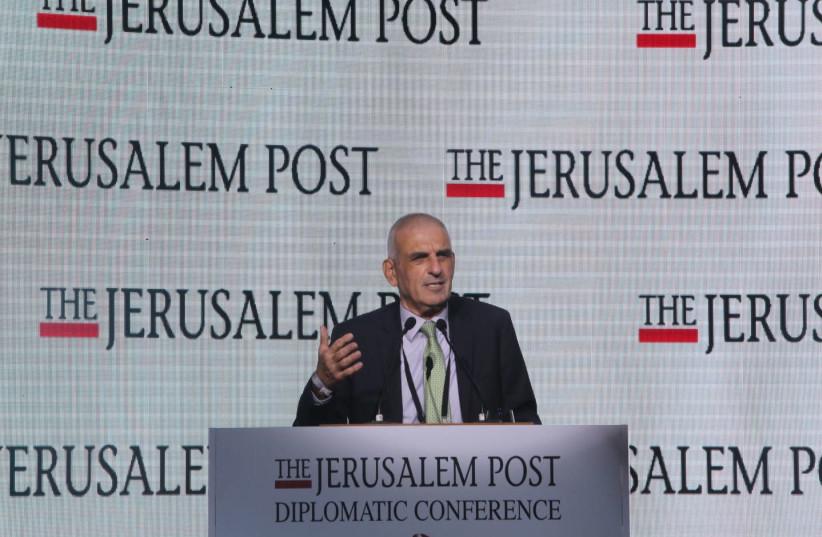 Chairman of the Board of Directors, Israel Discount Bank, Joseph Bachar (photo credit: MARC ISRAEL SELLEM/THE JERUSALEM POST)