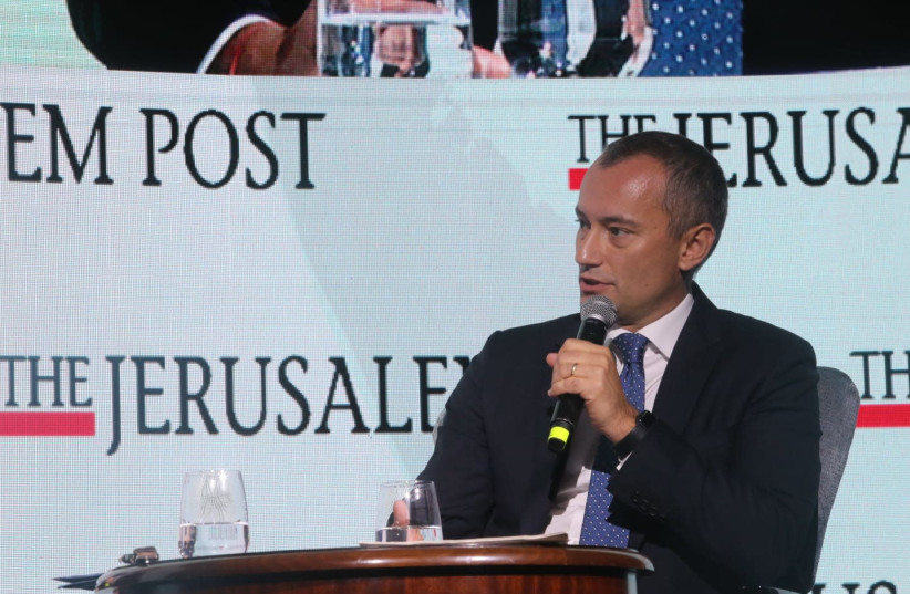 UN Special Coordinator for the Middle East Peace Process Nickolay Mladenov (photo credit: MARC ISRAEL SELLEM/THE JERUSALEM POST)