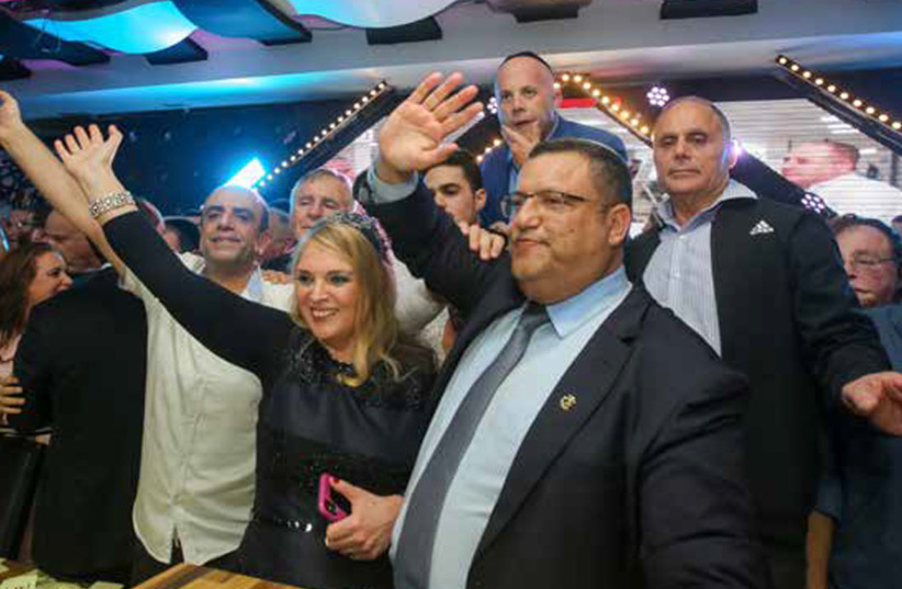 'I DESPERATELY want to see the good in Jerusalem's new mayor [Moshe Lion, shown here after his win in the second round on November 13]... [and that] he will deliver on his campaign slogan of being a mayor for all residents.' (photo credit: MARC ISRAEL SELLEM)