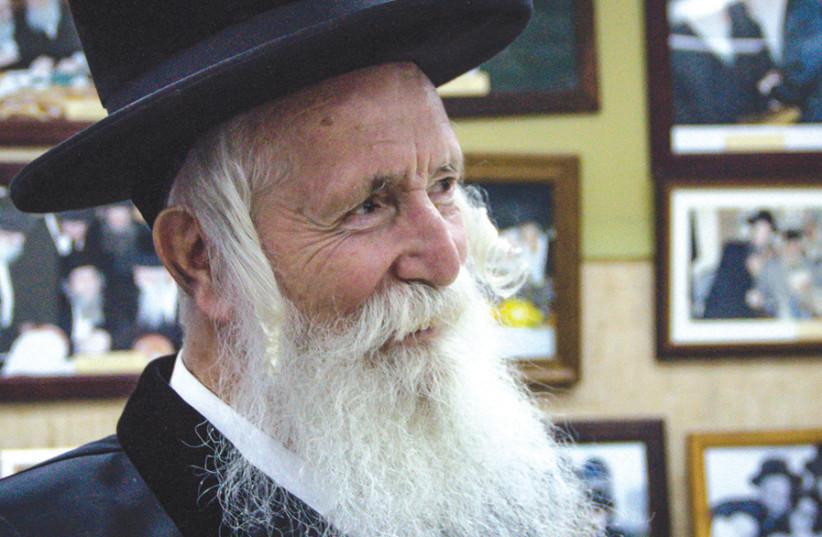 Migdal Ohr founder Rabbi Yitzchak Dovid Grossman (photo credit: LAURA BEN-DAVID)