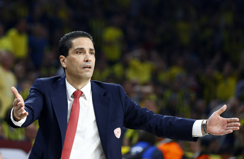 Coach Ioannis Sfairopoulos, 2017. (photo credit: REUTERS/OSMAN ORSAL)