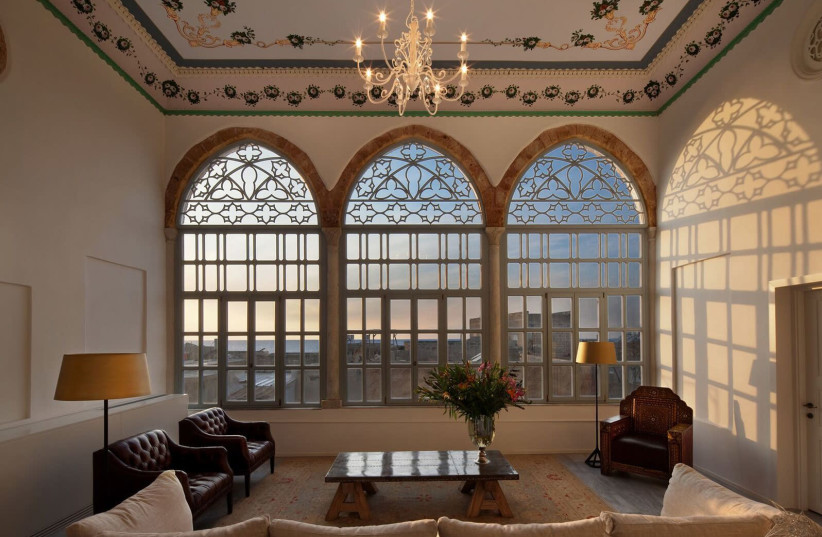THE EFENDI HOTEL in the heart of the Old City of Acre (photo credit: ARIEH O'SULLIVAN)