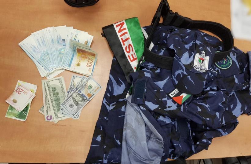 Israel Police raid findings (photo credit: ISRAEL POLICE)