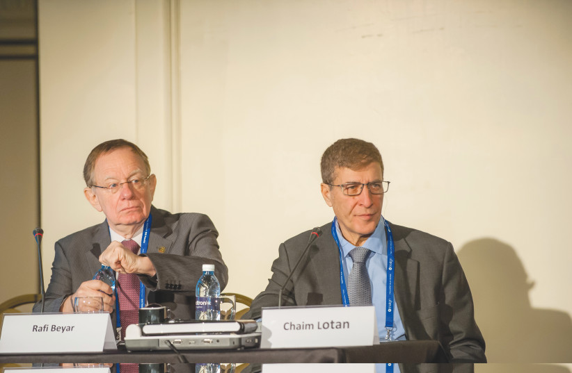 Professors Rafi Beyar and Chaim Lotan will head next week's cardiology conference in Tel Aviv (photo credit: Courtesy)