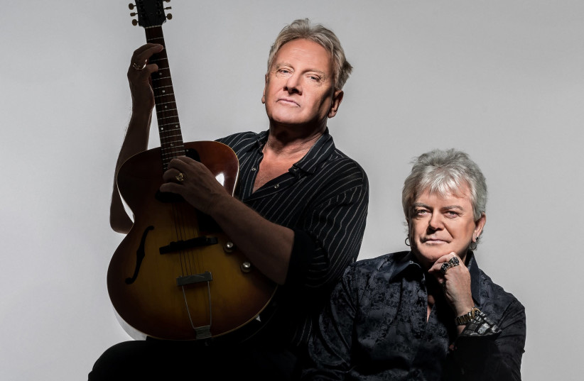 Soft rock duo Air Supply (photo credit: MICHAEL SCHOENFELD)