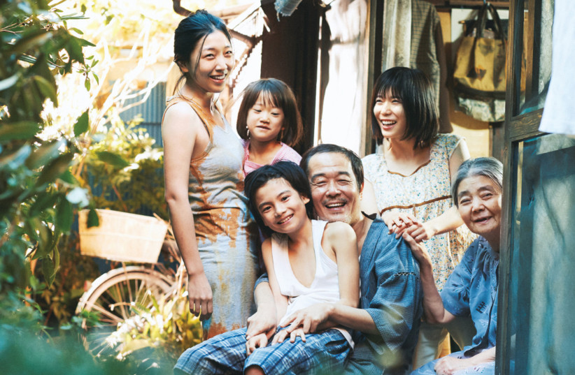 'Shoplifters', which won the Palme d'Or at Cannes, examines what life is like for people who have been thrown away by society (photo credit: Courtesy)