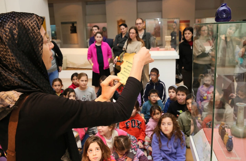 'The Mystery of the Hidden Pitcher' at the Bible Lands Museum (photo credit: ODED ANTMAN)