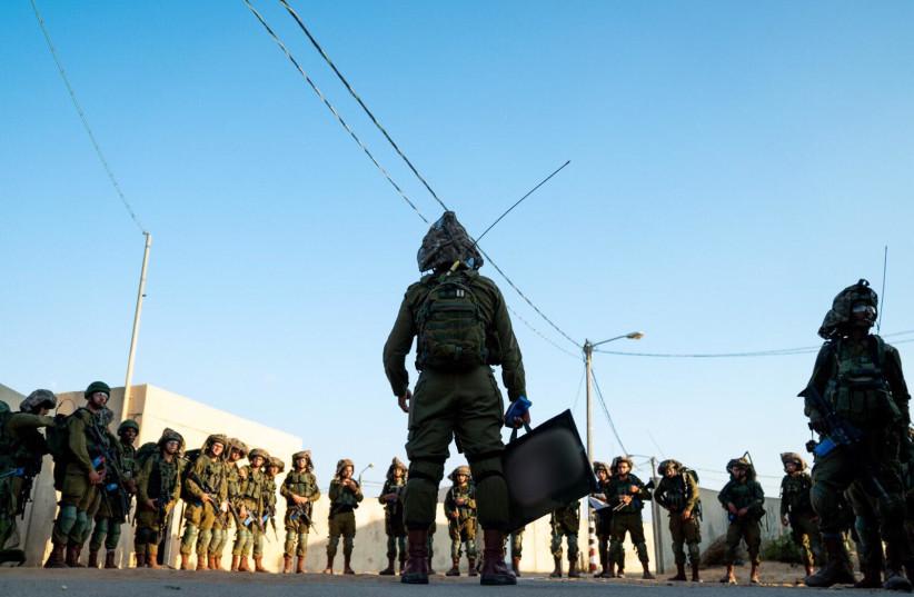 IDF Kfir Brigade training exercise (photo credit: IDF SPOKESMAN'S UNIT)