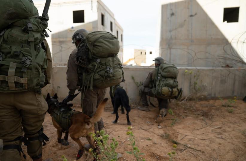 Exercice d'entraînement de la Brigade Kfir de Tsahal (crédit photo: UNITÉ DE PORTE-PAROLE DE Tsahal)