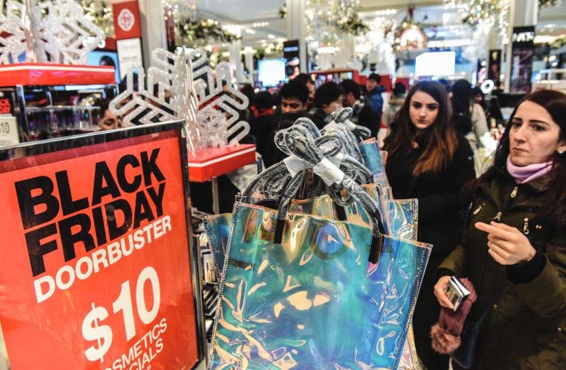 Black Friday (photo credit: REUTERS)
