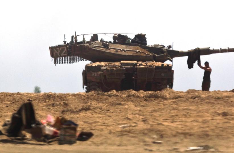 IS HAMAS deterred? (photo credit: REUTERS)