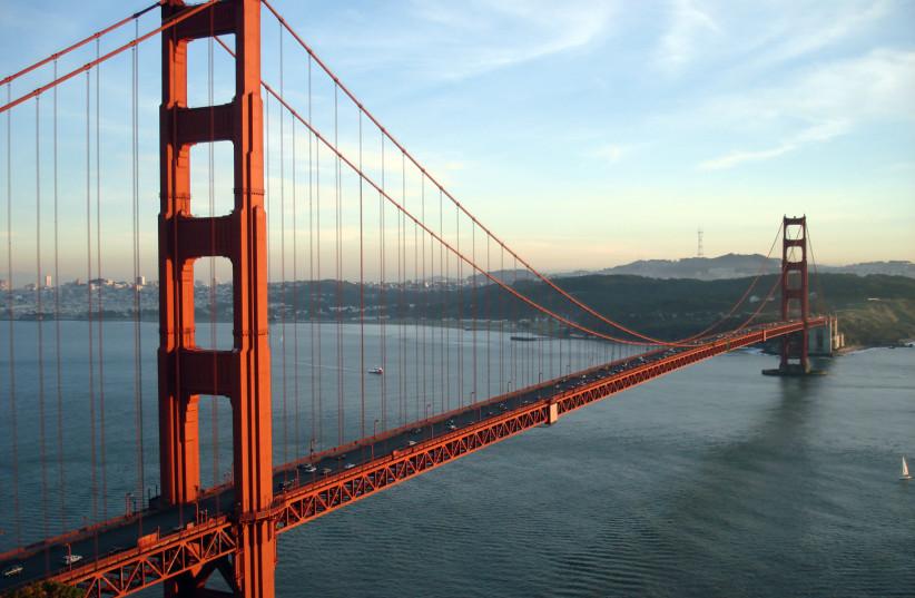 California's Golden Gate Bridge, near San Francisco (credit: RICH NIEWIROSKI JR./WIKIMEDIA COMMONS)
