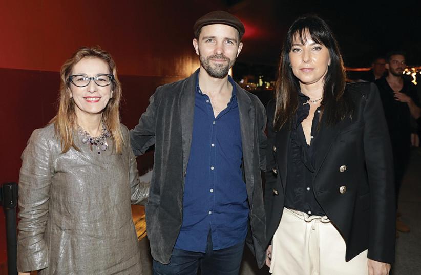 FROM LEFT, Maya Dvash, Maarten Baas and Regin Ganzi (photo credit: RAFI DELUYA)