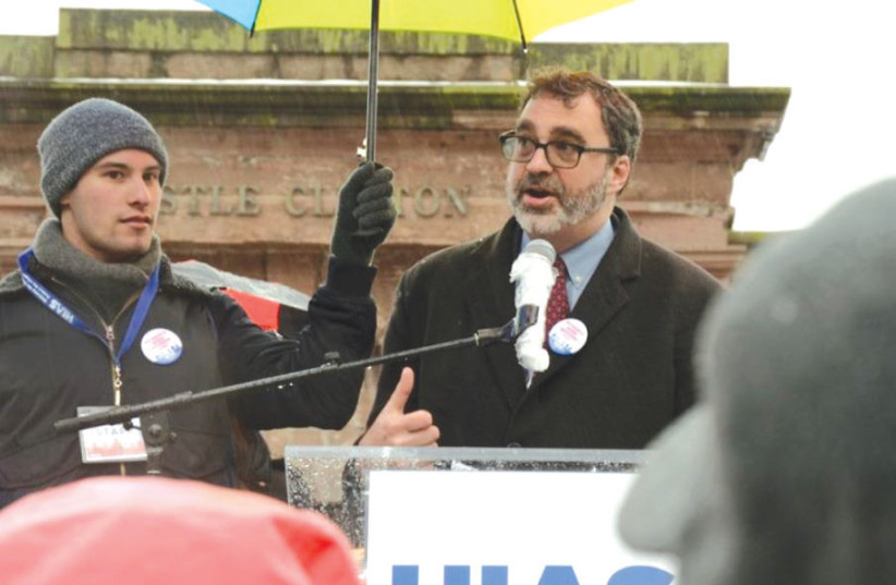 Mark Hetfield, president and CEO of the Hebrew Immigrant Aid Society (HIAS) (photo credit: Courtesy)