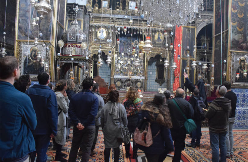 Touring the Christian Quarter. (photo credit: OPEN HOLIDAYS)