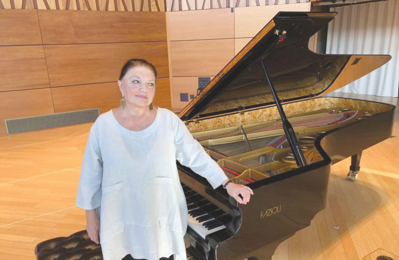 OXANA YABLONSKAYA will celebrate her 80th birthday with concerts in Jerusalem and Tel Aviv, along with her former students and friends (photo credit: Courtesy)