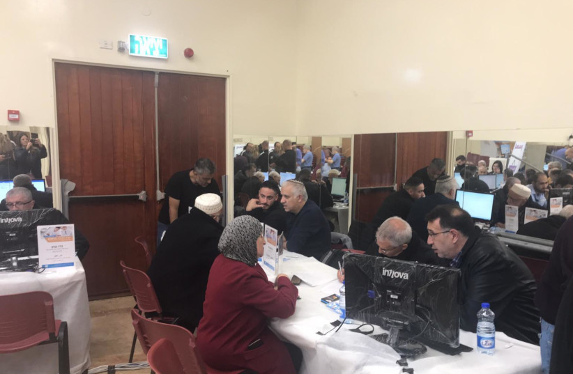 """Jerusalem Municipality event """"Straight to the Top"""" in the Beit Hanina neighbor in East Jerusalem on December 5, 2018 (photo credit: JERUSALEM MUNICIPALITY)"""