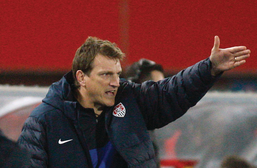 Israel's new national soccer team manager, Andreas Herzog, will meet his home team after Israel drew Austria in its group for the qualifying stages of the Euro 2020 (photo credit: REUTERS)