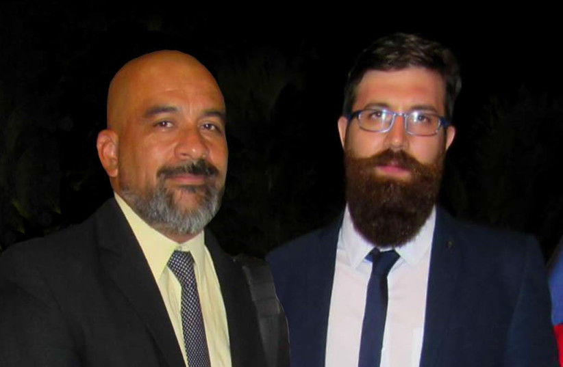 Hernán López, Executive Director of CCHIL (Left) and Gabriel Colodro, President of CCHIL (right) (photo credit: CCHIL)