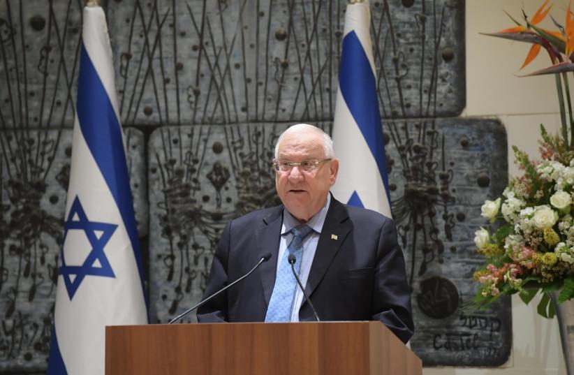 President Rivlin meeting Israeli heads of diplomatic missions, 10 December 2018. (photo credit: AMOS BEN GERSHOM, GPO)