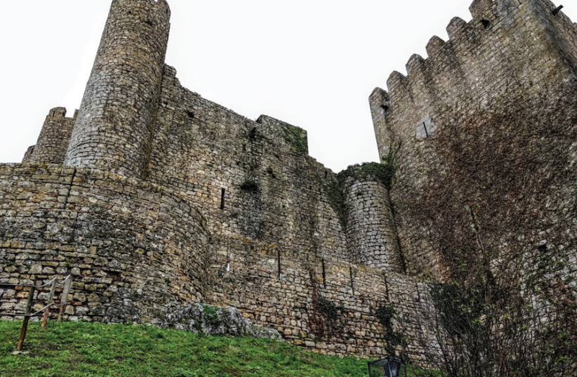 THE MEDIEVAL Castle of Óbidos. (photo credit: NERIA BARR)
