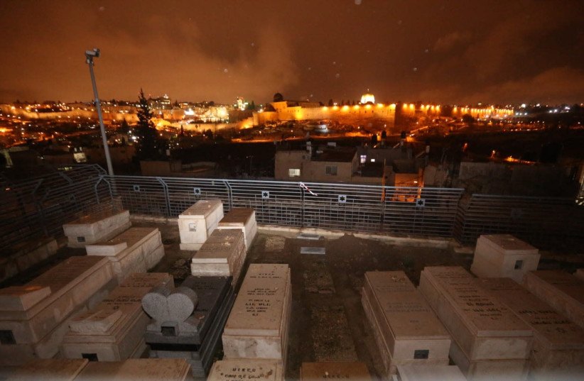 Funeral place of the murdered infant  (photo credit: MARC ISRAEL SELLEM)