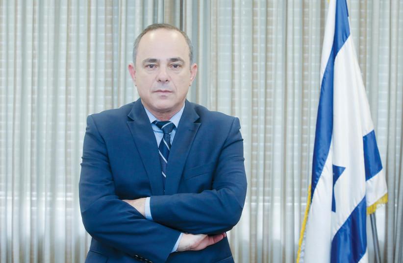 Yuval Steinitz  (photo credit: MARC ISRAEL SELLEM/THE JERUSALEM POST)