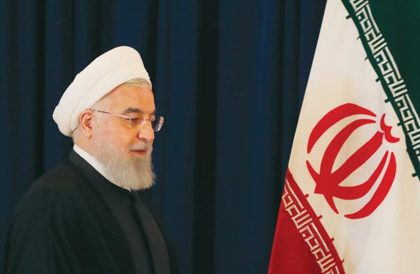 Iranian President Hassan Rouhani (photo credit: REUTERS)