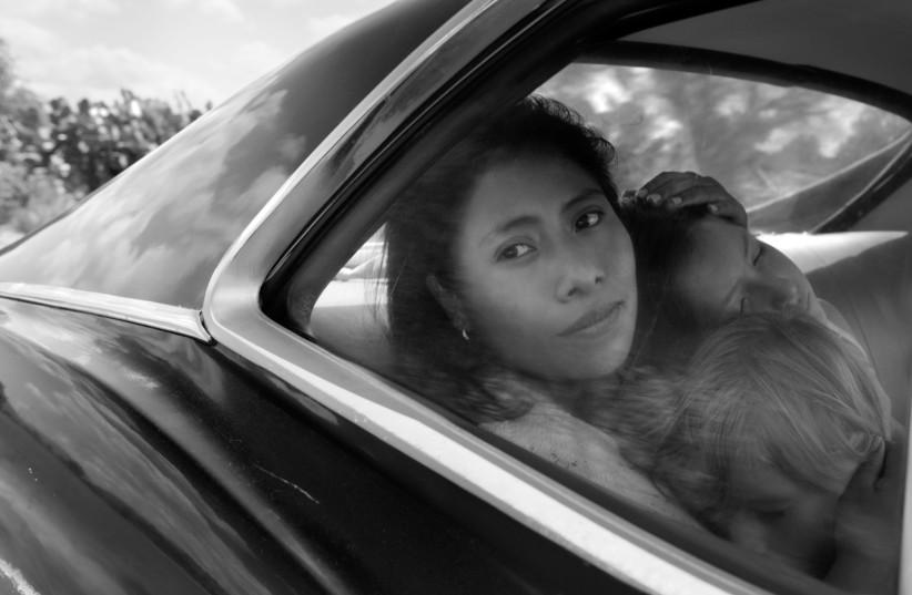 YALITZA APARICIO portrays Cleo in 'Roma.' (photo credit: ALFONSO CUARÓN)