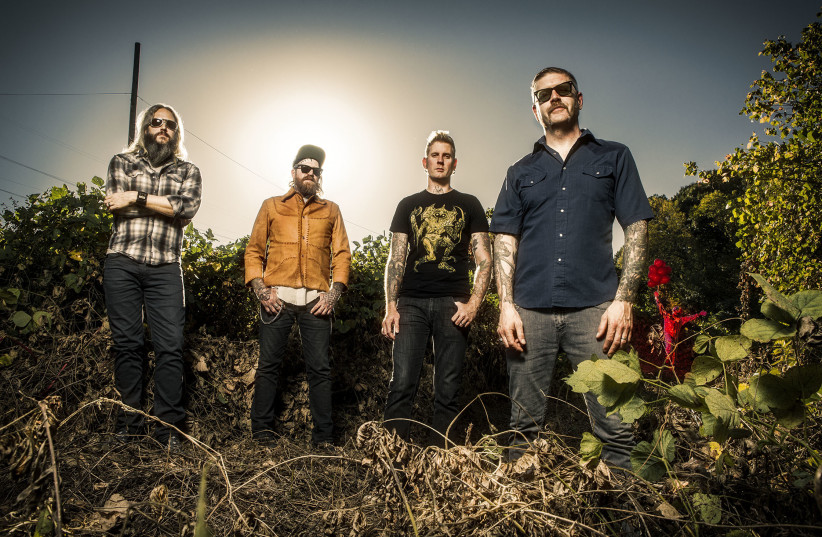 Mastodon, which has released seven studio albums, has been nominated for five Grammys. (photo credit: JIMMY HUBBARD)