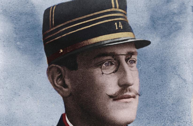 Alfred Dreyfus, circa 1894 (photo credit: Wikimedia Commons)