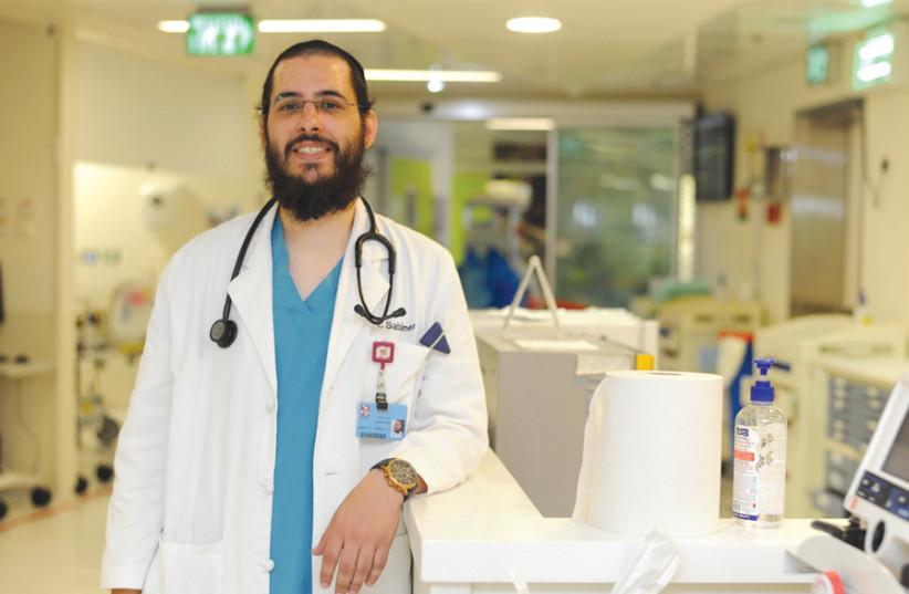 Yehuda Sabiner: Doctor in training (photo credit: RAMI SHLUSH / TECHNION)