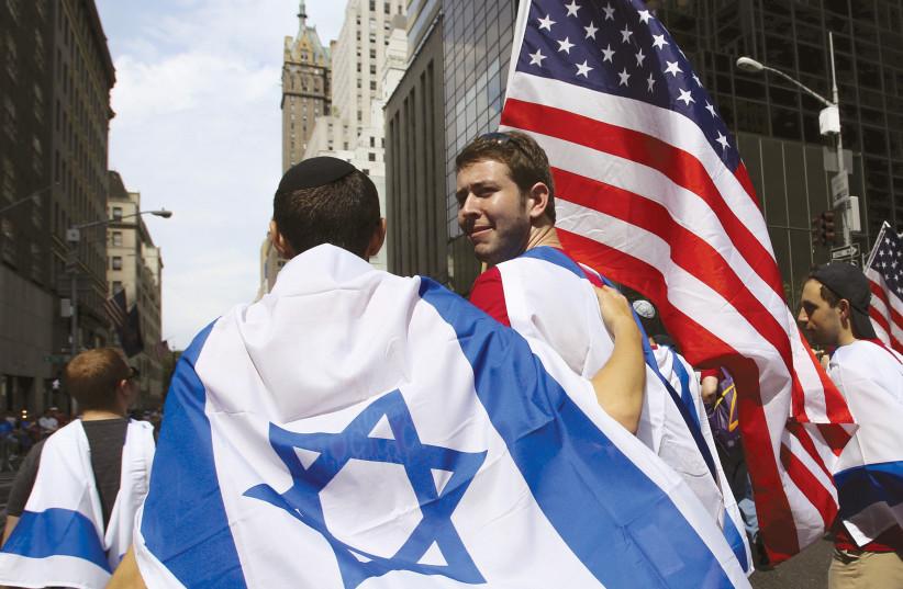 American and Israeli Jews [Illustrative] (photo credit: REUTERS)