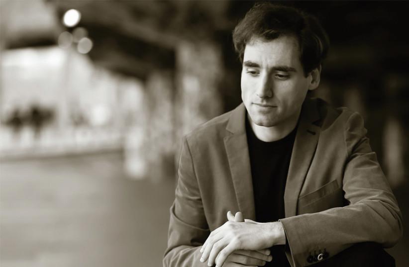 RUSSIAN BORN, Israeli raised pianist Boris Giltburg. (photo credit: SASHA GUSOV)