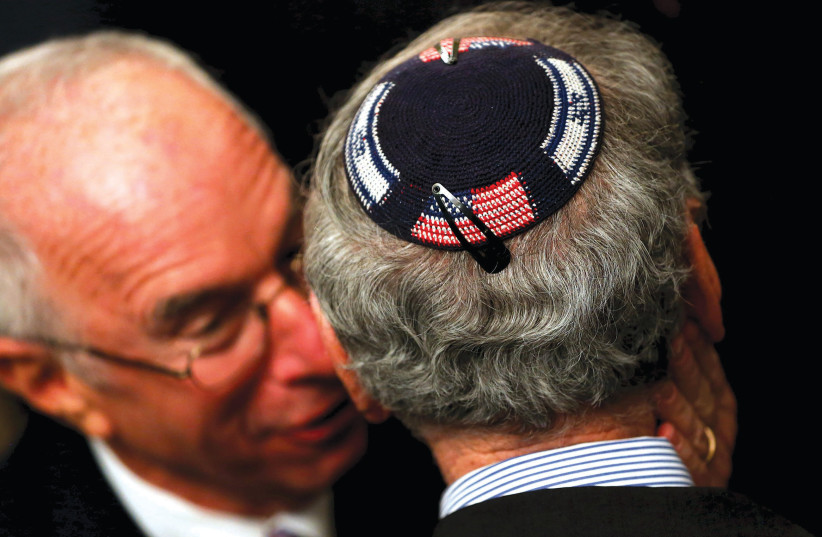 Have some American Jews replaced Judaism with liberalism? (photo credit: REUTERS)