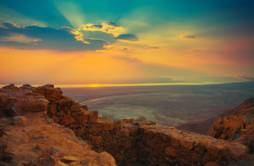 Sunrise in the Negev (photo credit: Courtesy)