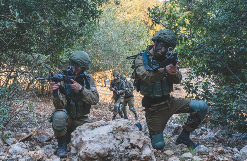 THE IDF's 869th Shahaf (Seagull) Field Intelligence Battalion are the eyes and ears of the troops on the Lebanese front (photo credit: IDF SPOKESPERSON'S UNIT)