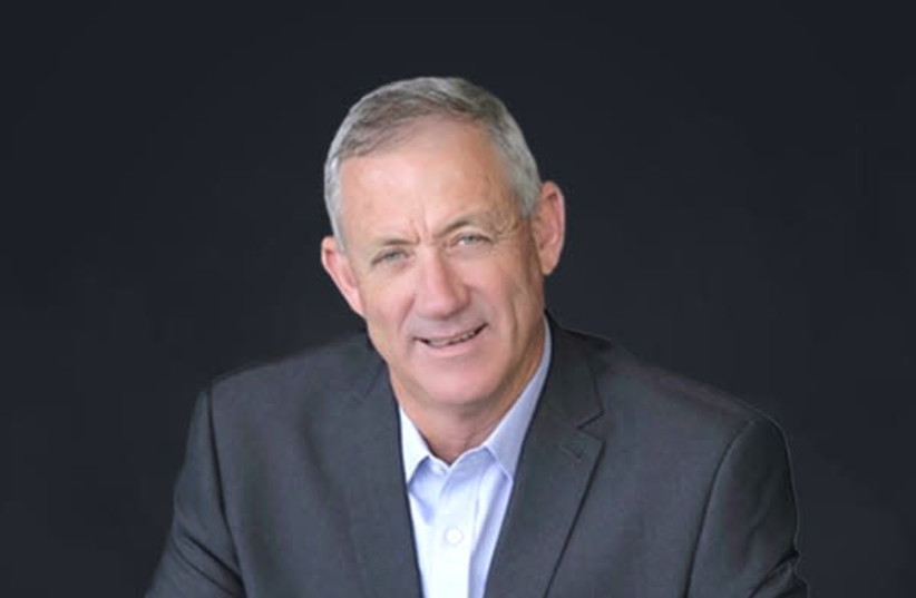 Former IDF chief of staff Benny Gantz (photo credit: THE 5TH DIMENSION)