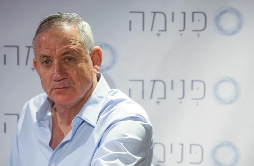 Former IDF chief-of-staff Benny Gantz, December 26th, 2018 (photo credit: MARC ISRAEL SELLEM/THE JERUSALEM POST)