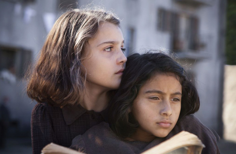 ELISA DEL GENIO and Ludovica Nasti play Elena and Lila, the twin heroines of 'My Brilliant Friend.' (photo credit: HBO)