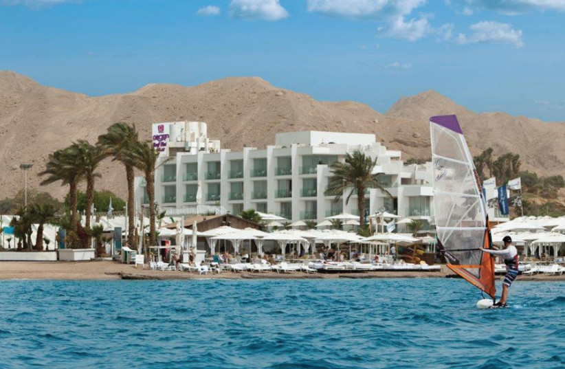 GET THE boutique experience at Eilat Orchid Reef Hotel. (photo credit: ASSAF PINCHUK)