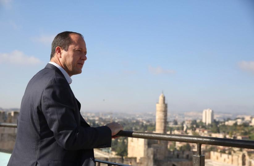 Former Jerusalem Mayor Nir Barkat (photo credit: Courtesy)