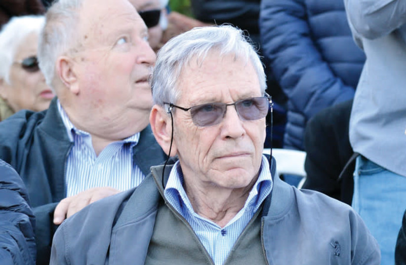 Amos Oz. (photo credit: FLASH90)