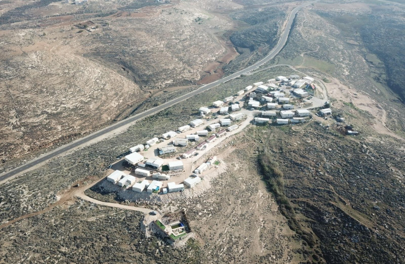 The Asa'el outpost in the southern Hebron hills (photo credit: Courtesy)