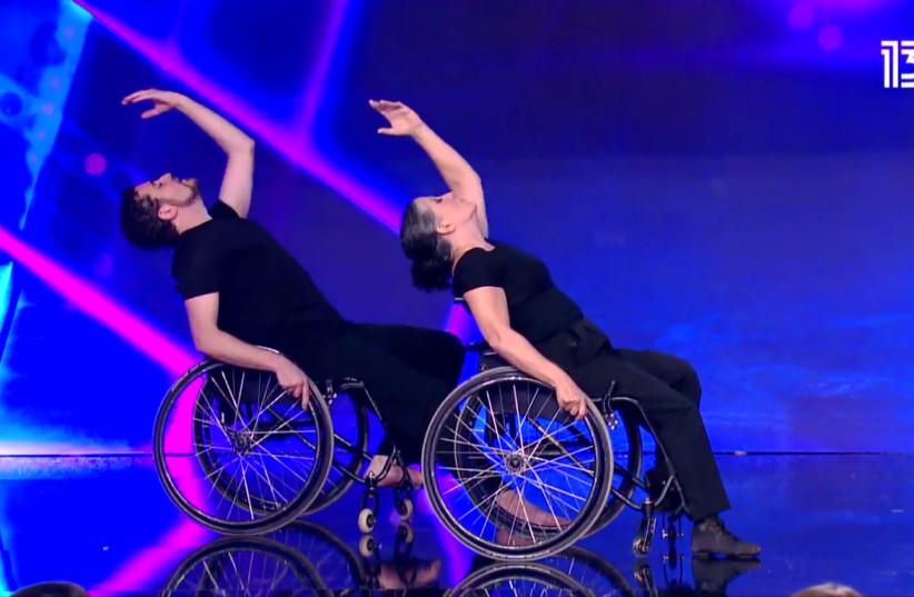 Oren and Zahava dance on 'Israel's Got Talent.'  (photo credit: RESHET)
