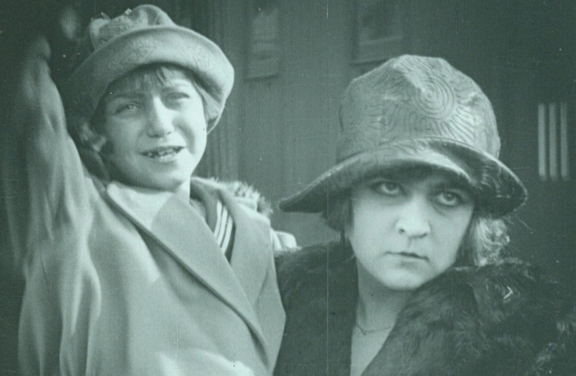 A still from the 1924 silent film 'A city without Jews'  (photo credit: HAROLD HOFFMAN / COURTESY)