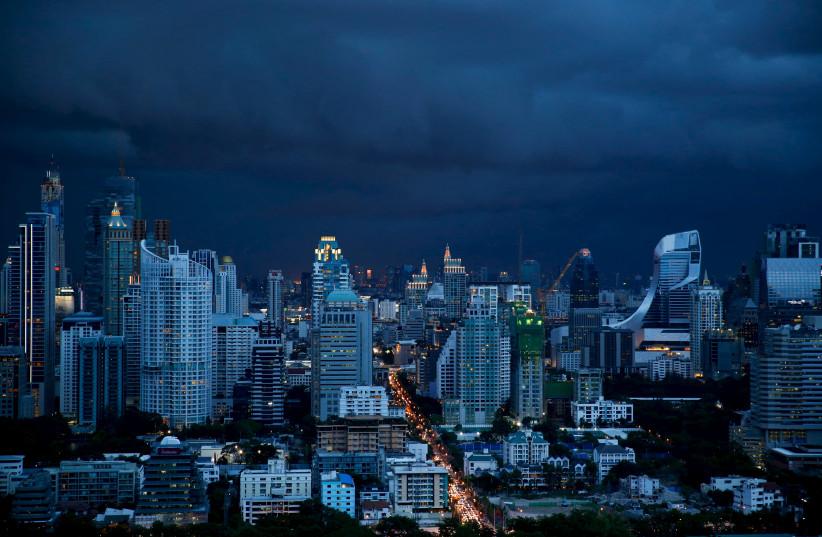 A view of central Bangkok, Thailand September 3, 2015 (photo credit: JORGE SILVA / REUTERS)