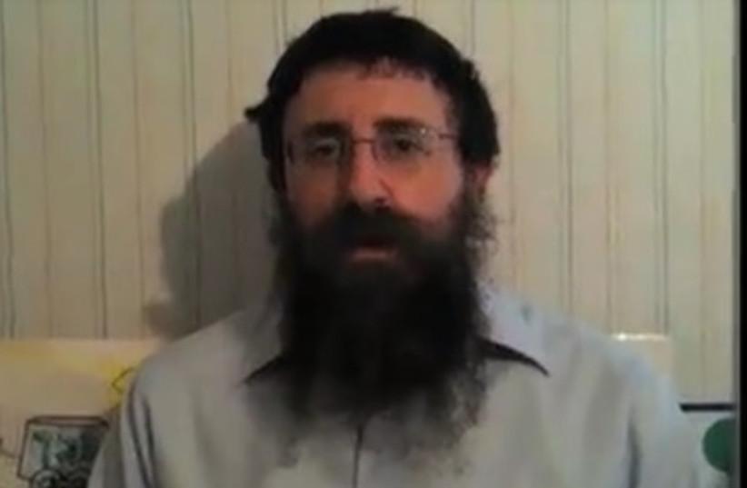 Rabbi Ephraim Simon (photo credit: YOUTUBE SCREENSHOT)