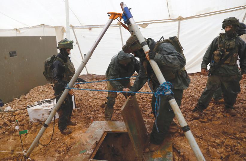 IDF: Hezbollah still has tunnels on the Lebanese side of the border - Jerusalem Post